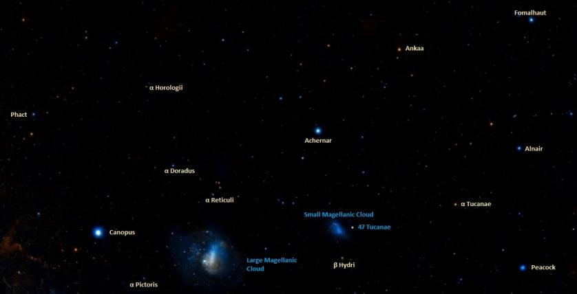 how to find achernar,where is achernar in the sky