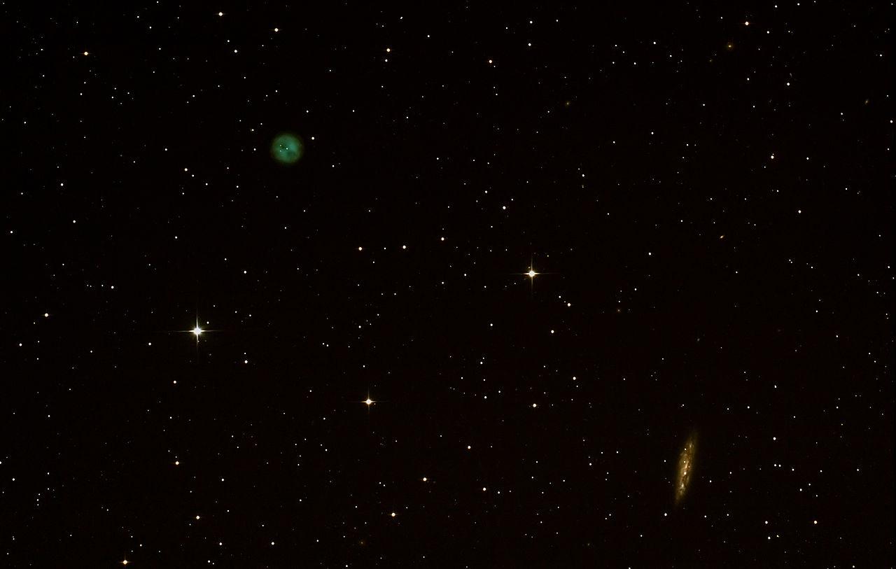 owl nebula,messier 97,messier 108