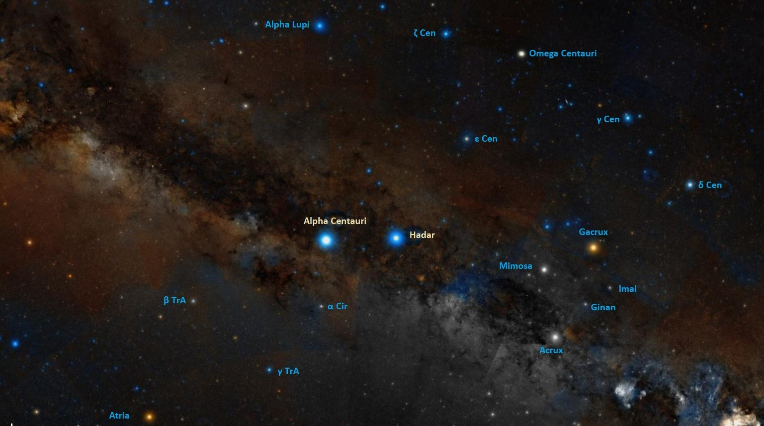 how to find alpha centauri,where is alpha centauri in the sky