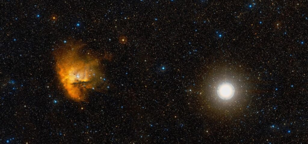 schedar,pacman nebula,ngc 281