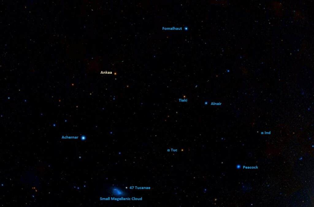how to find ankaa,where is alpha phoenicis