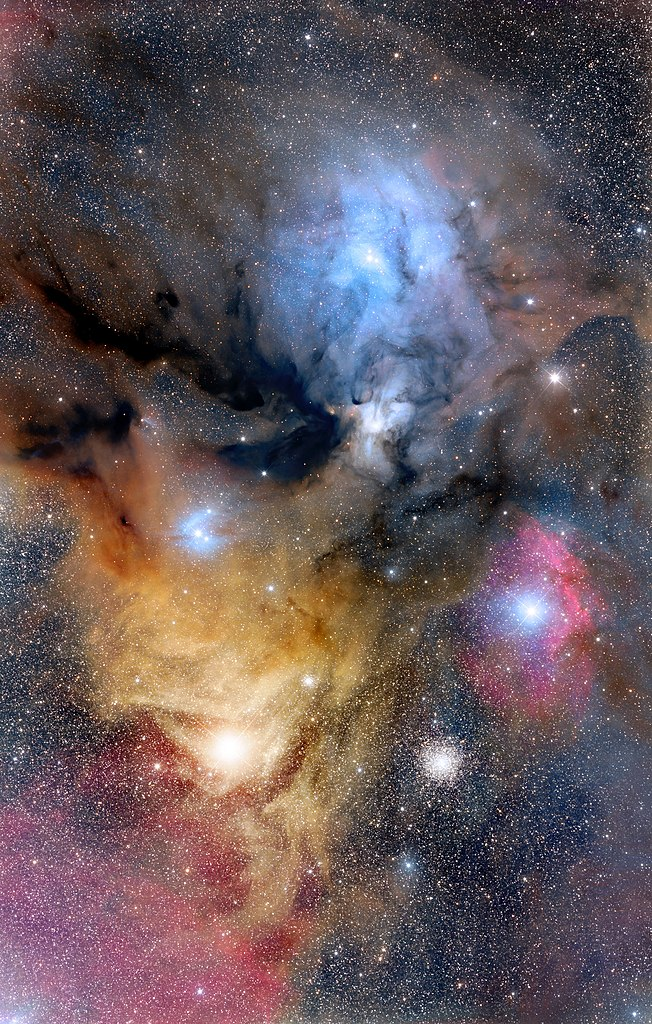 rho ophiuchi cloud complex,antares